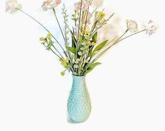 Wildflower Arrangement, Pastel Florals, Faux Arrangement, Pastel Wildflowers, Spring Arrangement, Pastel Arrangements, Pink Arrangement