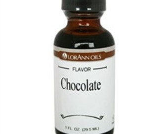 Chocolate Flavor LorAnn Hard Candy Flavoring Oil 1 oz