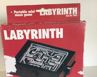 Portable Labyrinth with metal balls by Fundex