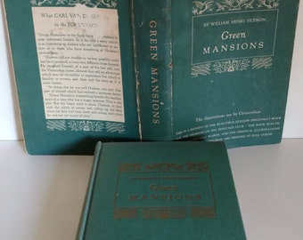 1944 Green Mansions by William Henry Hudson Heritage Press