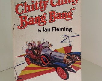 1964 Chitty Chitty Bang Bang by Ian Fleming