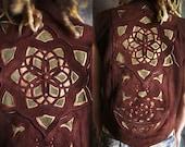 Celtic Mandala Leather Vest