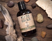 Wild Man Beard Wash - COVE - Beard Soap Shampoo - 120ml // 4oz Father Gift Dad
