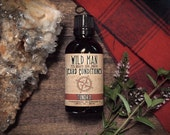 Mens Beard Oil Conditioner Wild Man - Tundra - 50ml // 1.69oz - Valentines Day