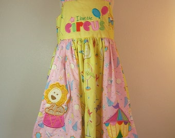 Circus Theme Dress Etsy