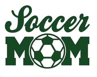 Soccer Mom Decal Etsy