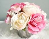 Easter Centerpieces, Table Topper, Table Decor, Centerpieces, Flower Arrangement