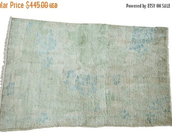 10% OFF RUGS DISCOUNTED 2.5x4 Distressed Oushak Rug