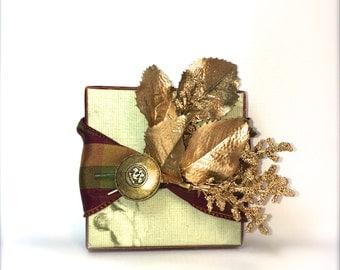 Christmas Gift Boxes for Men Groomsmen Gifts, Wedding, Favors, Jewelry, Gift Cards, Handmade, Decorative Boxes