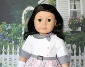 American Girl 1950s Maryellen, pink and grey plus extras