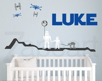 Star Wars Stormtrooper and Son Wall Decal