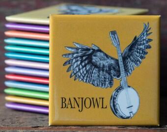 Banjowl Magnet