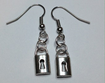 Locked Down Earrings