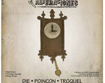 WALL CLOCK BigZ Die by Tim Holtz Alterations  - 658719
