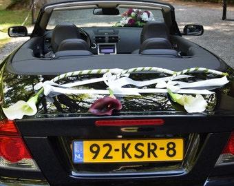 Giant Callas Wedding Car Decoration