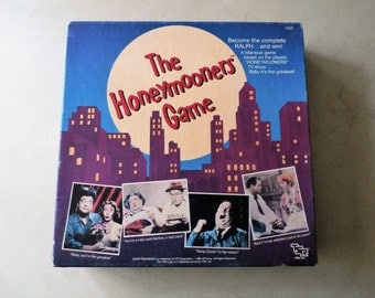 Vintage Honeymooner's Board Game