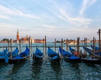 Photograph of Venice Gondolas