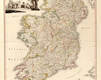 1797 Map of Ireland