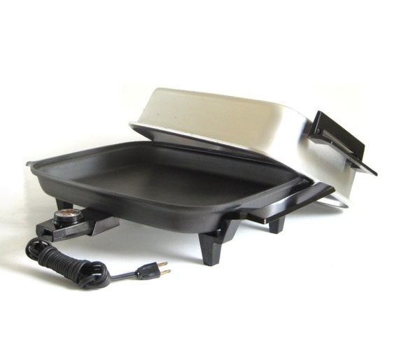 Lektro Maid Skillet Electric Frying Pan Miracle By