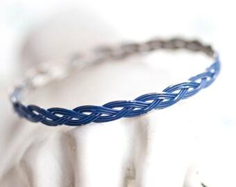 Blue Bangle - Vintage Bracelet
