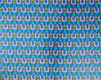 99031 -  Amy Butler Cameo - Hopscotch in lake color-Laminated cotton -  1/2 yard