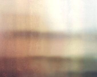 Abstract Minimalist Pastel Landscape, Modern Wall Art, Pastel Photograph, Minimal Home Decor, Contemporary Landscape Photography, Pink