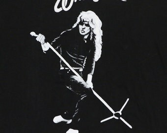 Whitesnake Shirt 1980s Vintage Concert Rock And Roll Band Tee Original 80s 80s Rock Tshirt Rare