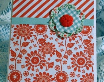 Red and White Card for Any Occasion  20160001