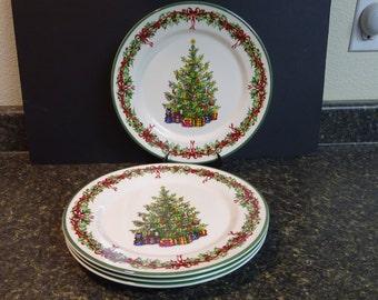 Christopher Radko Christmas Tree Plates