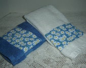 Special listing for Laura 2 country blue hand/dish towels