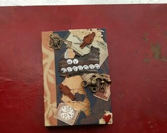 My Journey, Journal, Sketchbook, Diary, Original Fine Art by Katie Pobjecky