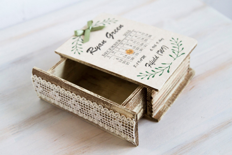 baby memory box baby keepsake box save the date baby memory. Black Bedroom Furniture Sets. Home Design Ideas