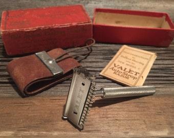 Vintage Shaving Razor - Valet Auto Strop - VC2 - Million Dollar Razor