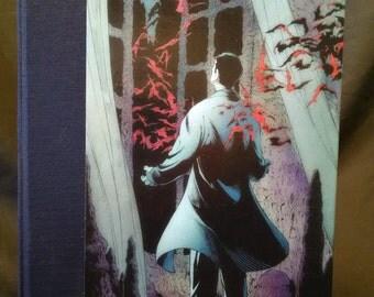 Handmade Bruce Wayne and His Bats Blank Journal/Sketchbook - M042