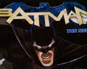 Handmade Batman Blank Journal/Sketchbook - M044