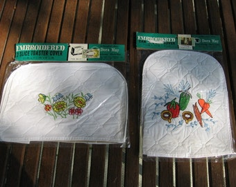 Dora May Embroidered Appliance Covers