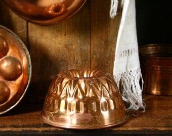 Vintage copper bundt pan