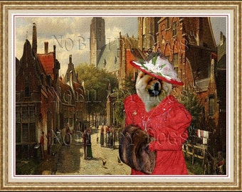 Chow Chow Fine Art Canvas Print by Nobility Dogs