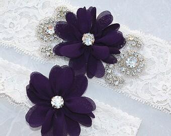 SALE vintage garter , bridal garter, wedding garter, garter , lace garter , flower garter