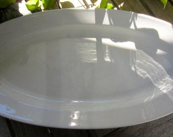 Vintage Fish Serving Platter, Arabia Porcelain Made in Finland, Whole Salmon Fish Platter, Elegant, Collectible, Excellent Vintage Condition