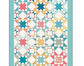 Star Bright paper quilt pattern by a Quilting life Sherri McConnel