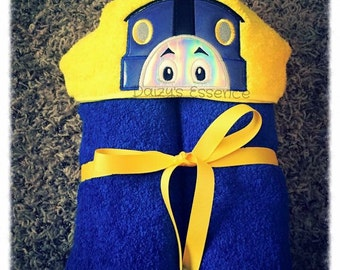 Thomas the Train Hooded Towel