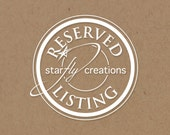 Reserved Listing for Bette