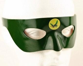 THE GREEN HORNET Mask Costume Kato Mask Green Hornet Cosplay Fancy Dress Green Hornet Costume Kato Cosplay