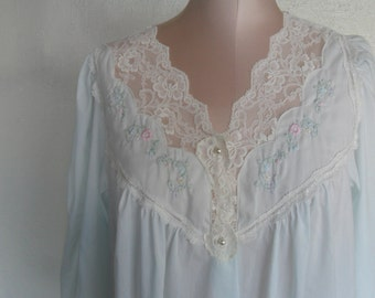 Vintage Robe Barbizon House Coat Dressing Gown Medium