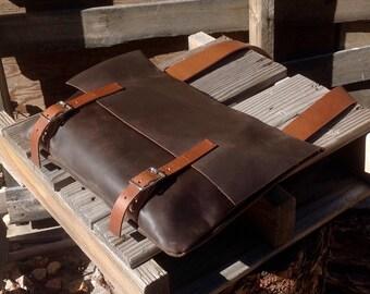 Leather iPad Messenger