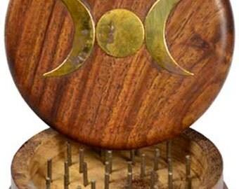 Wooden Herb Grinder