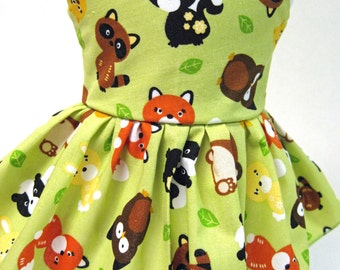 Baby Animals Sleeveless Dress for your American Girl Doll D