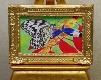 Butterflies:  Watercolor Print by Marie Haeffner-Reeves