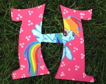 Hand Painted My Little Pony Letter